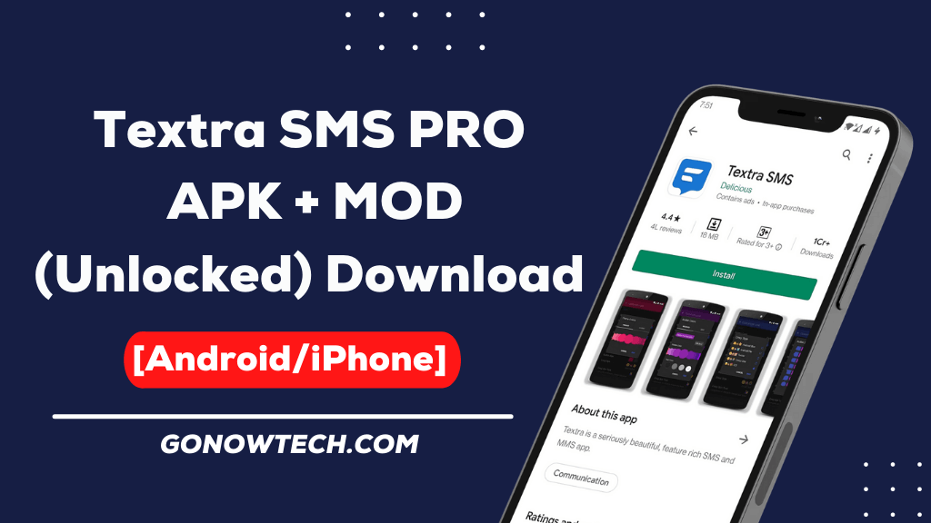 Textra SMS PRO  APK + MOD (Unlocked) Download