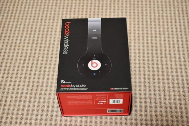 beats wirelessの箱