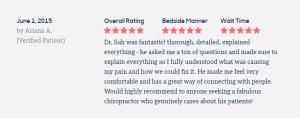 dr ryan suh fantastic, thorough, detailed
