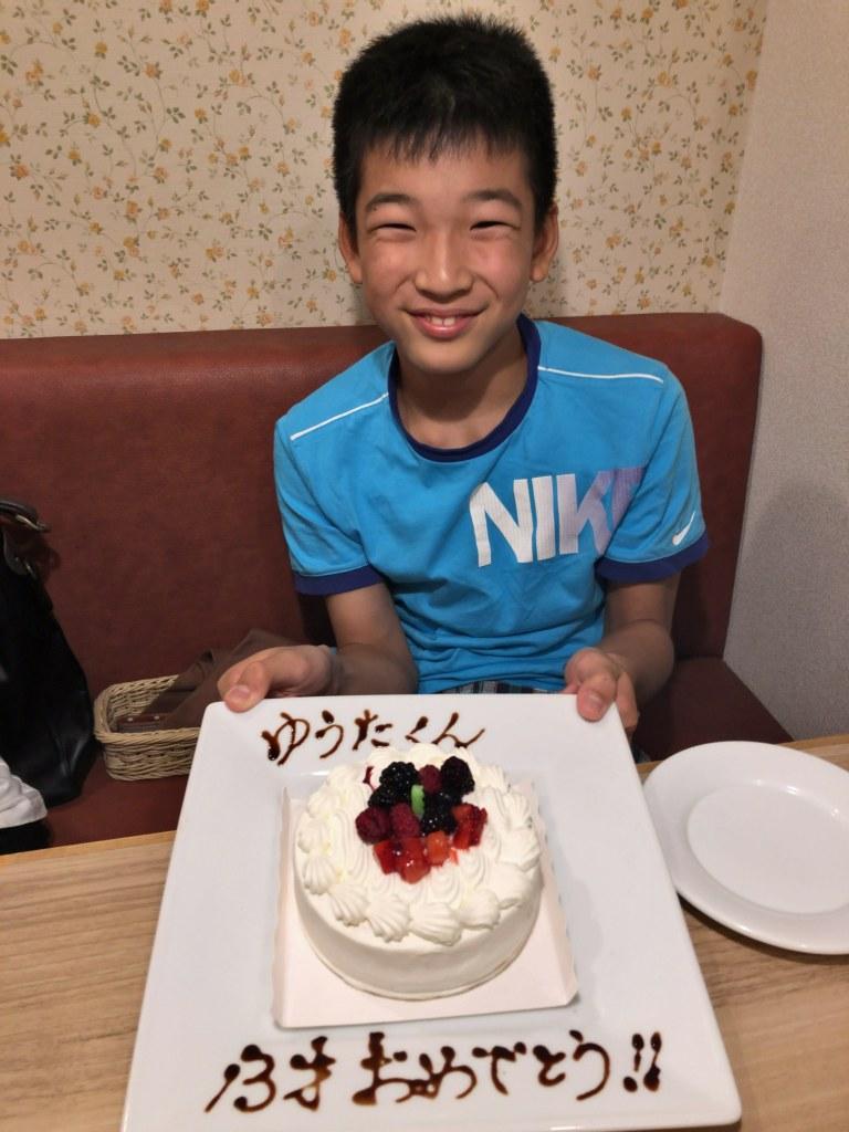 13歳の誕生日