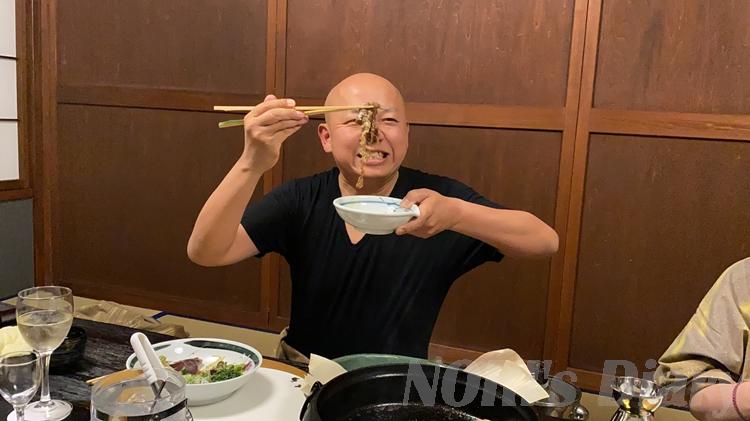NORIすき焼き肉食う