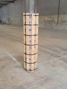 Column protection formwork