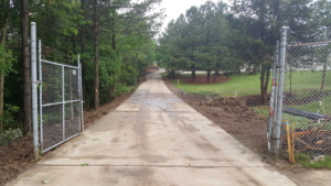 Entry drive cleanup underway