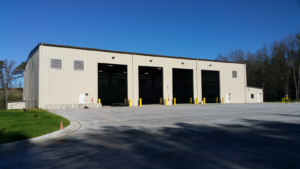 Waste Industries Transfer Station Exterior View