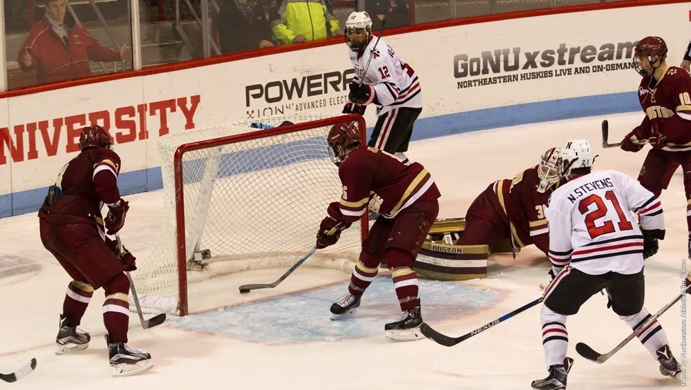 Goal vs. Boston College