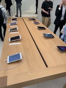 Apple渋谷 iPad