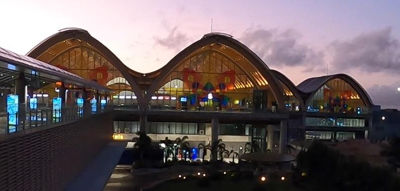 セブ空港第2ターミナル外観