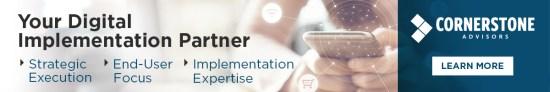 Digital Implementation Partner - Cornerstone Advisors