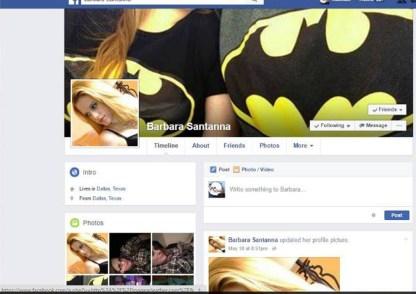 The Blackmailer's Facebook Profile