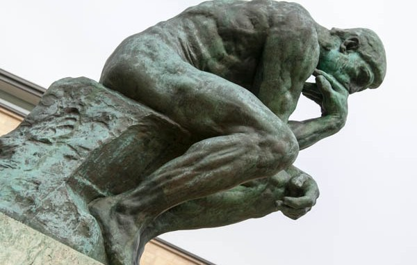 """Photo for poem """"The Thinker"""" by William Furnell for Gonzo Today"""