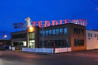 Teddie's Peanut Butter - Taken in 2014 outside Night Shift Brewery