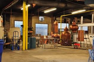 Early sneak peak inside Short Path Distillery