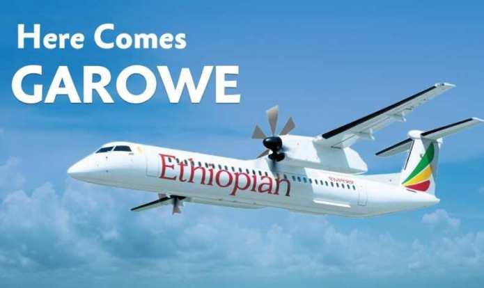 Shirkada Ethiopian Airlines oo ku dhawaaqay xilliga ay Duulimaadka ka bilaabeyso magaalada Garowe.