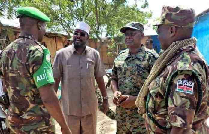 XOG: Ciidamada Kenya ee ku sugan Kismaayo oo ka qeyb qaatay jebinta Xayiraadii Dowladda Somalia