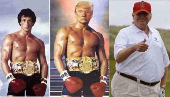 Madaxweyne Donald Trump oo fadeexo ka raacday Sawir tabal ah oo uu soo dhigay Baraha Bulshada