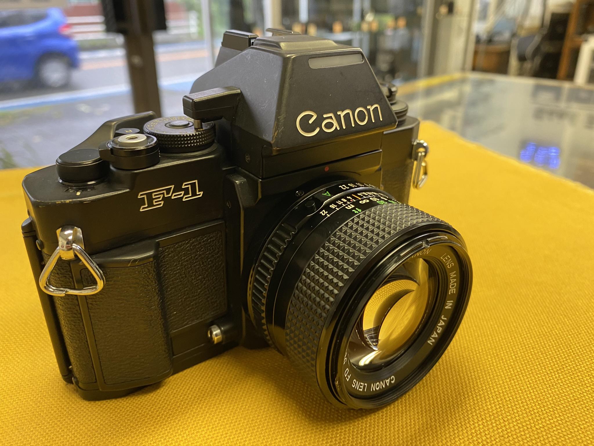 Canon New F-1 50mm F1.4付 ¥ 35,000( 税込 )