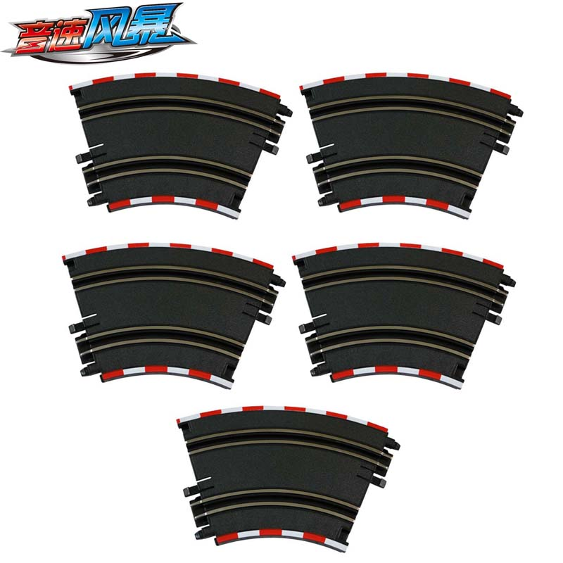 Curved Track Suitable for Top-Racer AGM TR Series Slot Car Racing Set