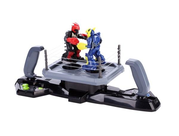 Joystick Handle Remote Control Boxer Interactive Robot Toy, Double Player Arena Battle Boxing RC Robot