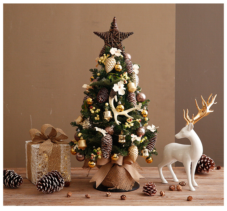 17in, 25in, 37in, 3ft, 2ft, Pre-Lit Small Tabletop Artificial Scandinavian Christmas Trees, Nordic style Christmas Decorating Ideas.