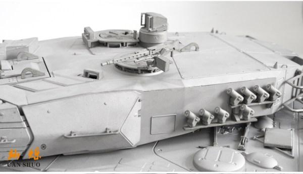 """Full Metal + Gun Stabilizer"" Leopard 2 A6 RC Tank, 1/16 Scale Model MBT (Main Battle Tank)"