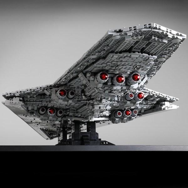 "-""7284 Pieces My Own Creation""- Star Wars MOC-15881 Executor-class Star Dreadnought Custom Bricks. (MOC Custom Bricks, Compatible Building Blocks Bricks)"
