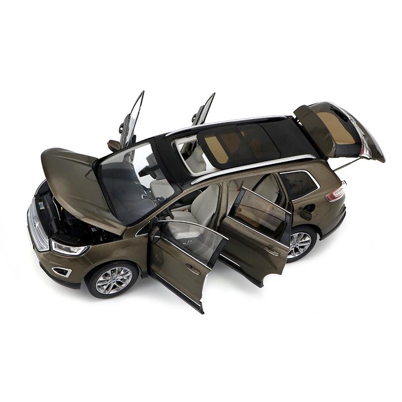 Diecast Cars, 1/18 Diecast Model Car, FORD EDGE SUV 1:18 Scale Model Car.