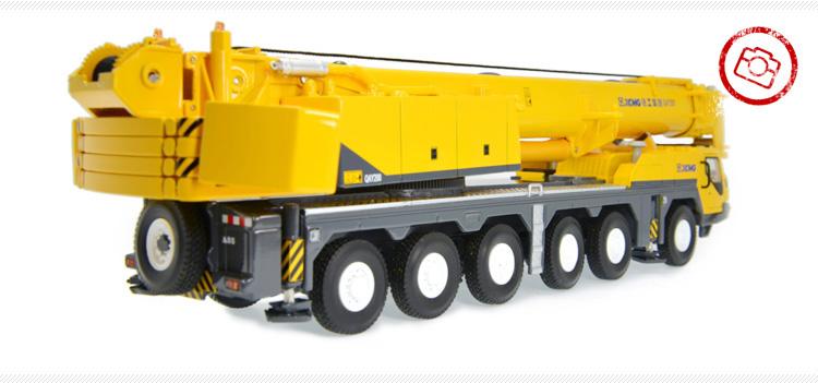 1/50 XCMG 200 ton Mobile Crane All Terrain Crane QAY200 Truck Crane Diecast Scale Model. (Construction Vehicles, Heavy Equipment, Machinery, heavy-duty vehicles, construction engineering Scale Model)