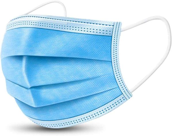 10Pcs Disposable Medical Mask, Disposable Face Mask (3-Ply) with Earloop, Three Layers Disposable Surgical Mask, Great for Coronavirus disease 2019 COVID-19 Virus Protection and Personal Health.