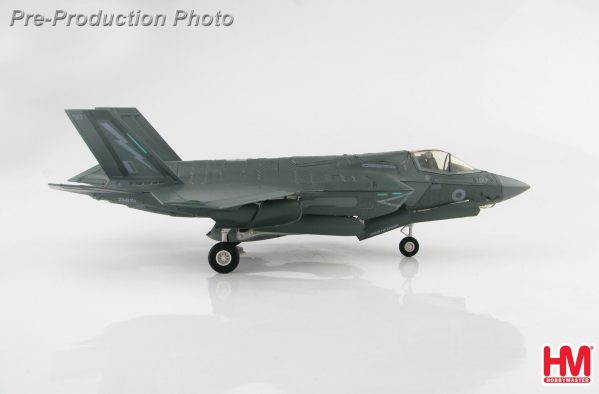 Hobby Master Collector 1/72 Air Power HA4610 F-35B ZM151, UK Lightning Force, 2019, Lockheed Martin F-35 Lightning II Short Take-Off and Vertical-Landing (STOVL) Stealth Multirole Combat Fighter (Military Airplanes Diecast Model, Pre built Aircraft Scale Model)
