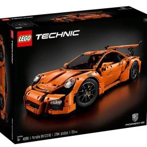 Lego Technic 42056 Porsche 911 GT3 RS, 2704 Pieces Building Toy, Building Set, Brick Set (Building Blocks, Building Bricks)