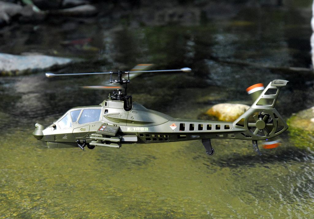 """""""Boeing–Sikorsky RAH-66 Comanche"""" Ready to Fly (RTF) Attack Helicopter Scale Model, 2.4GHz, 4CH (4 Channel), Single Rotor, Remote Control Helicopter, Simulation RC Military Helicopter Toy"""