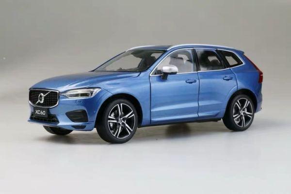 Volvo xc60 2018 2019 2020 blue color Scale Model Car diecast model car collectible model car collector toy car hot wheels collectors