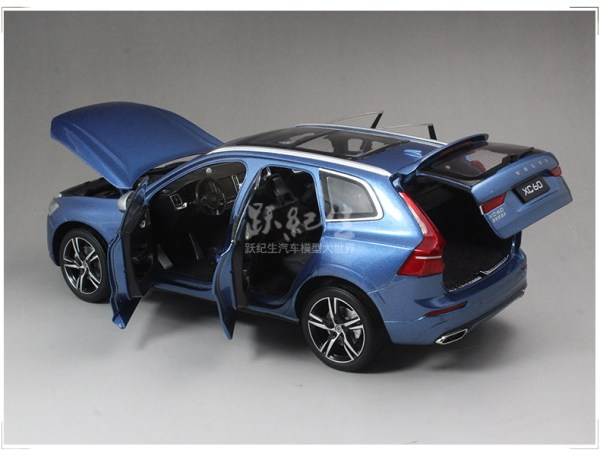Volvo Xc60 2017, 2.0 L engine with Automatic transmission, SUV in Blue colour with 6,540 miles on the clock is offered for sale in the UK