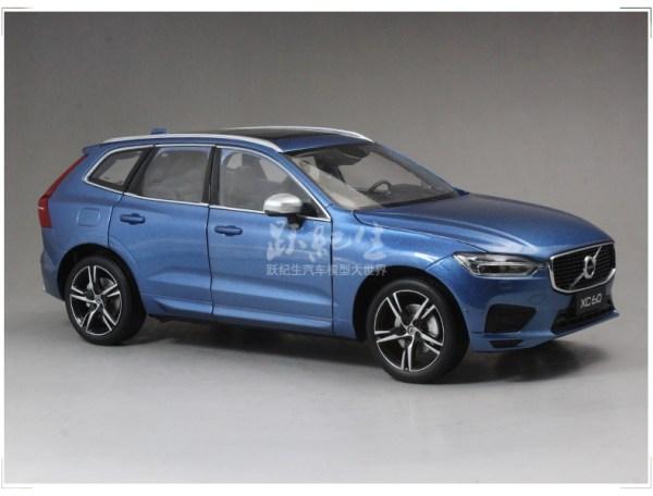 Used Cars with Volvo Selekt - Volvo Volvo XC60 T5 AWD R-Design Automatic (Bursting Blue Metallic