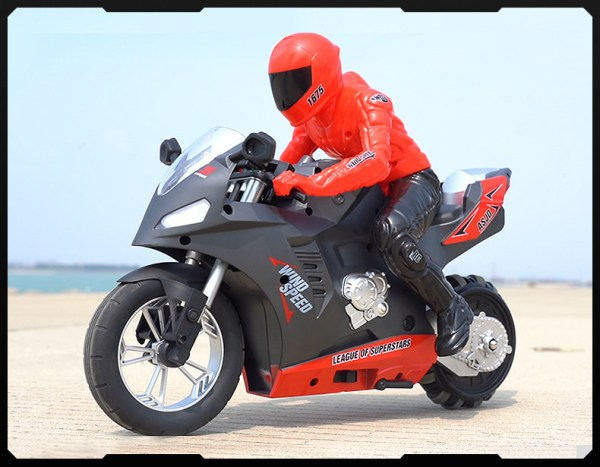 Upriser Remote Control Motorcycle Self-Balance RC Stunt Bike Wheelies RC Motorbike High-Speed Drifts RC Motorcycle Real Race RC Motorbike electric Radio control Motorcycle toy