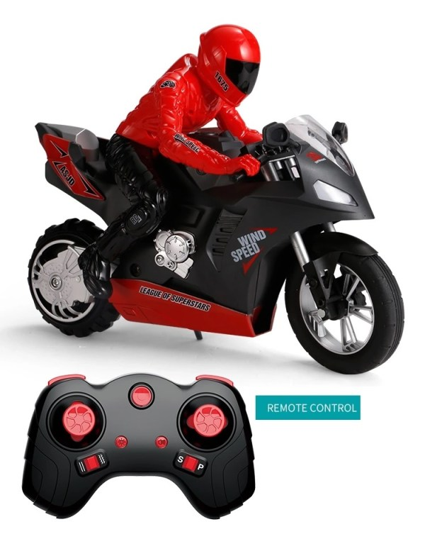 """""""…probably better at wheelies than you are!""""– VISOR DOWN"""