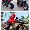 1:6 Scale Upriser Remote Control Motorcycle, Self-Balance (balance with no support) RC Stunt Bike, Wheelies RC Motorbike, High-Speed Drifts RC Motorcycle, Real Race RC Motorbike