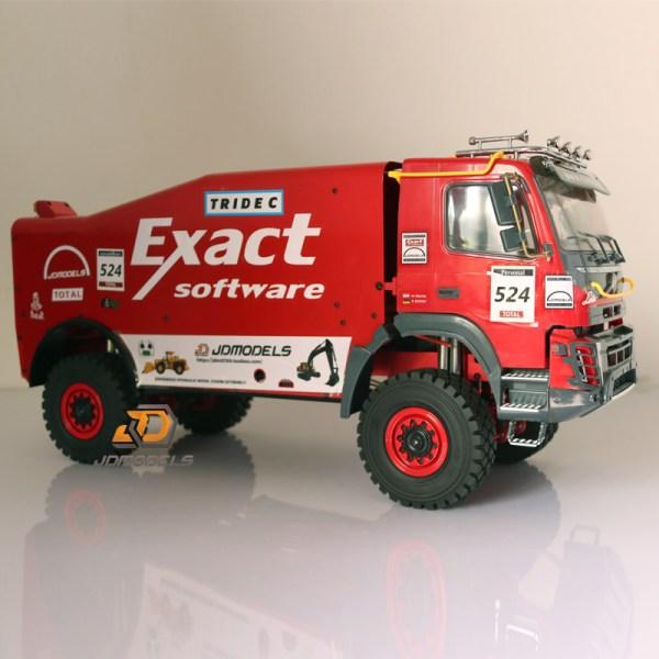 RTR RC 4WD 1/14 Scale Dakar Rally Race Truck, MAN PBX 6x6. Axial Racing Axial Racing RC REALISTIC RC DAKAR RALLY TRUCKS #PBX #axial #rctruck