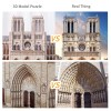 Item Number: MC260h. WHOLE CubicFun SERIES ARE AVAILABLE ! Ablaze Works. It is a very representative part of the Gothic church area of the Ile-de-France region. The entire church was built in 1345 and has more than 180 years history.
