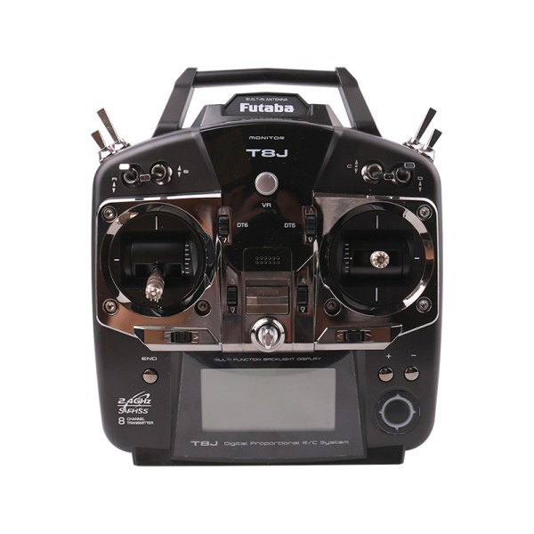 Futaba T8J Transmitter, 8J 8-Channel Digital Proportional R/C System, Futaba 8J 2.4GHz Radio Control System, S-FHSS S.BUS. Suitable For RC Airplane, RC Aircraft, RC Helicopter, RC Multicopter.