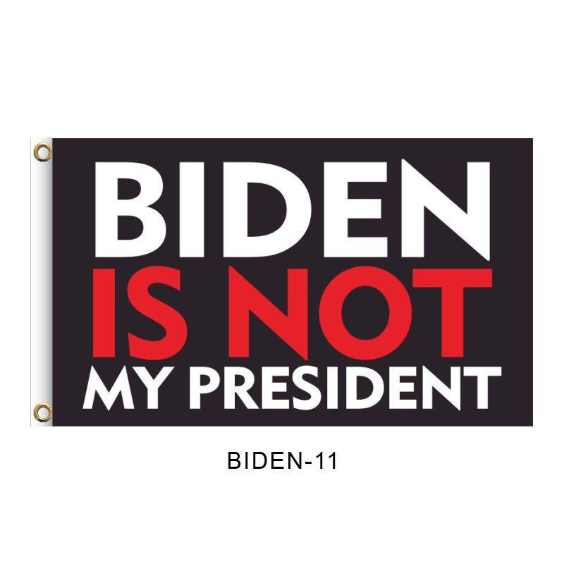 """BIDEN IS NOT MY PRESIDENT"", 2FT, 3FT, 5FT, Donald Trump for President 2024, TRUMP 2024 Banner, TRUMP 2024 Flag, Trump 2024 United States Presidential Plection Merchandise"