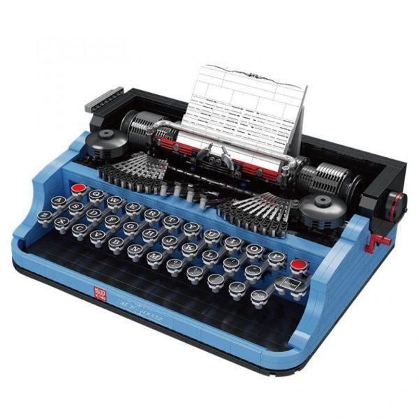 Typewriter MOC Ideas, MOULD KING 10032 Typewriter, Custom Building Blocks Bricks, 2139 pieces Typewriter 21327 Compatible Building Blocks.