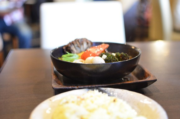 Soup Curry with 15 Kinds of Ingredients -GARAKU in Sapporo-