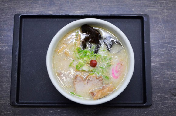 Salt Ramen -Santoka Head Office in Asahikawa-