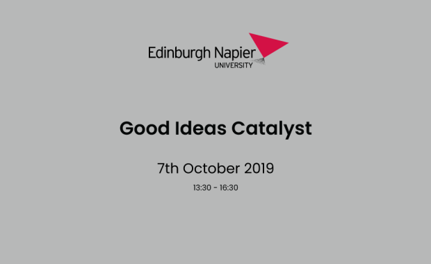 Good Ideas Catalyst with Edinburgh Napier