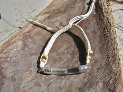 Lourdes water bracelet