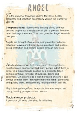Angel charms