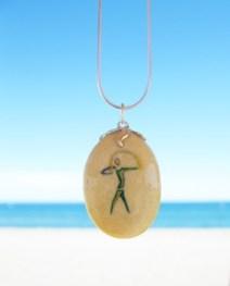 Rainbow Warrior charmstone Indalo Art