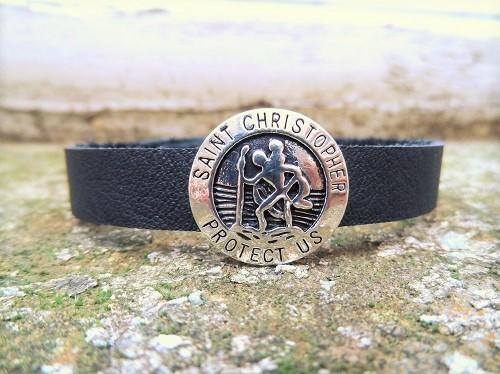 St Christopher protection bracelet