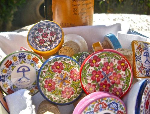 Spanish ceramic wine stoppers